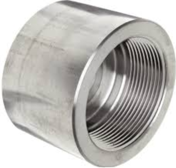 End Cap Class #3000 Npt Stainless Steel Astm A182-F316L